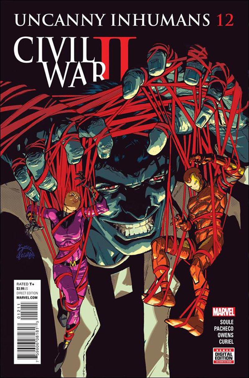 Uncanny Inhumans #12 [2016] VF/NM Marvel Comics