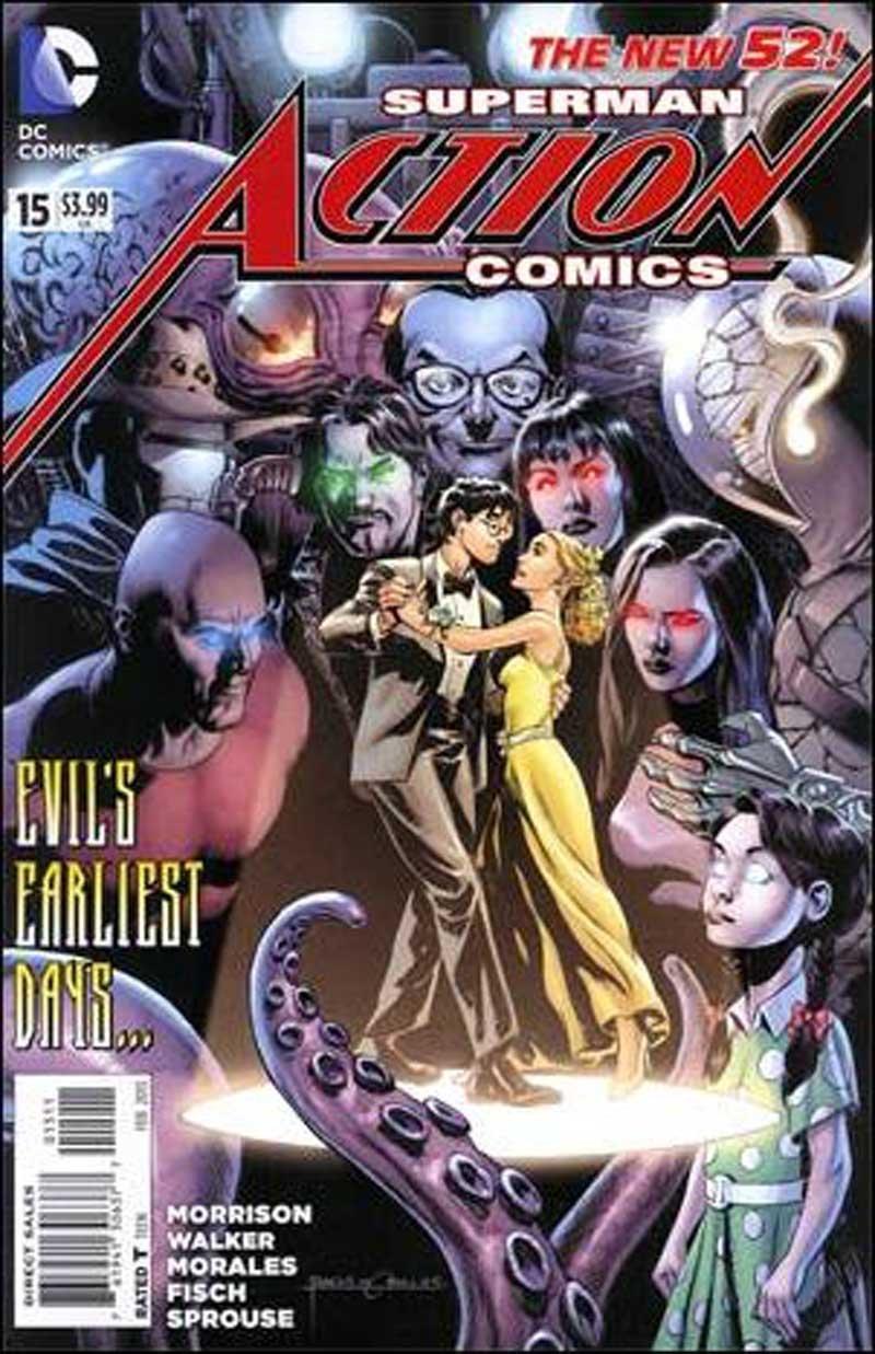 Action Comics #15 [2013] VF/NM DC Comics