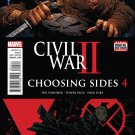 Civil War II: Choosing Sides #4 [2016] VF/NM Marvel Comics