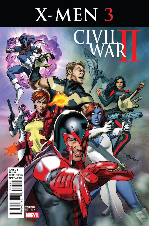 Civil War II: X-Men #3 Mike Mayhew Variant Cover [2016] VF/NM Marvel Comics