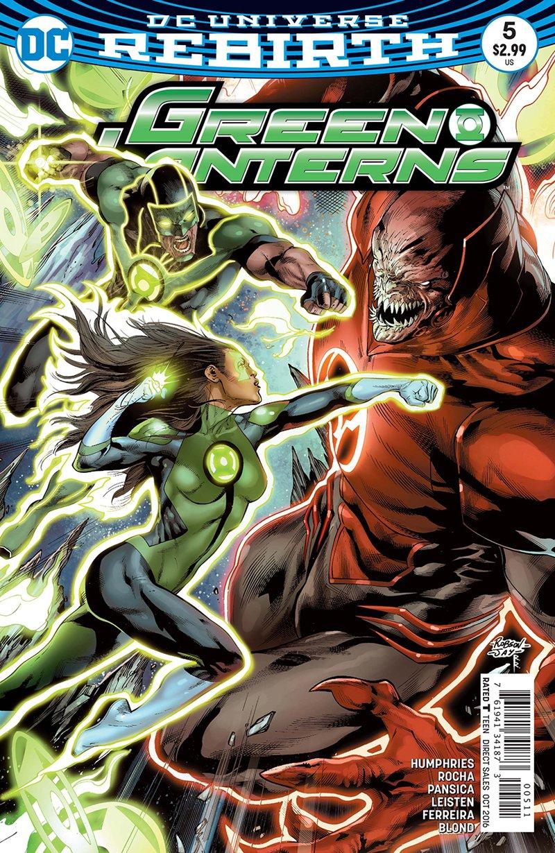 Green Lanterns #5 [2016] VF/NM DC Comics