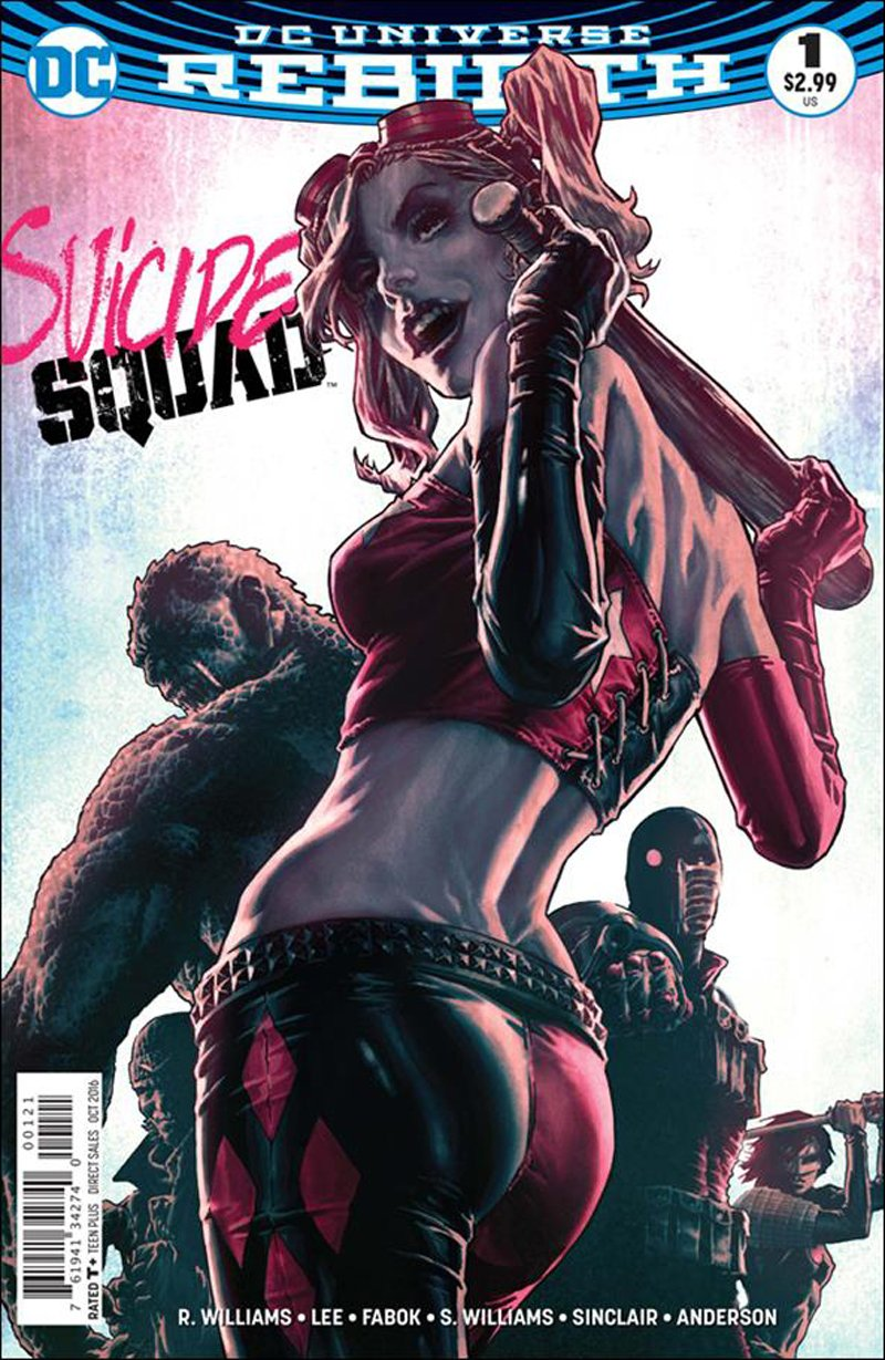 Suicide Squad #1 Lee Bermejo Variant Cover [2016] VF/NM DC Comics