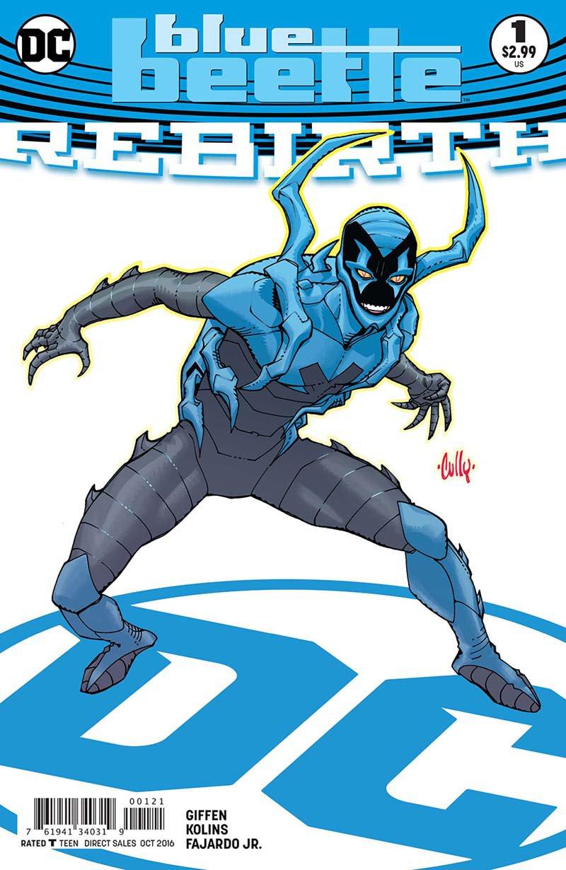 Blue Beetle Rebirth #1 Cully Hamner Variant Cover [2016] VF/NM DC Comics
