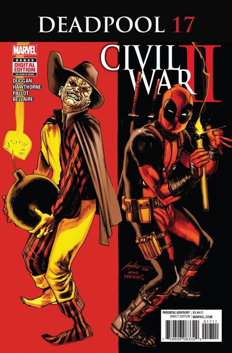 Deadpool #17 [2016] VF/NM Marvel Comics