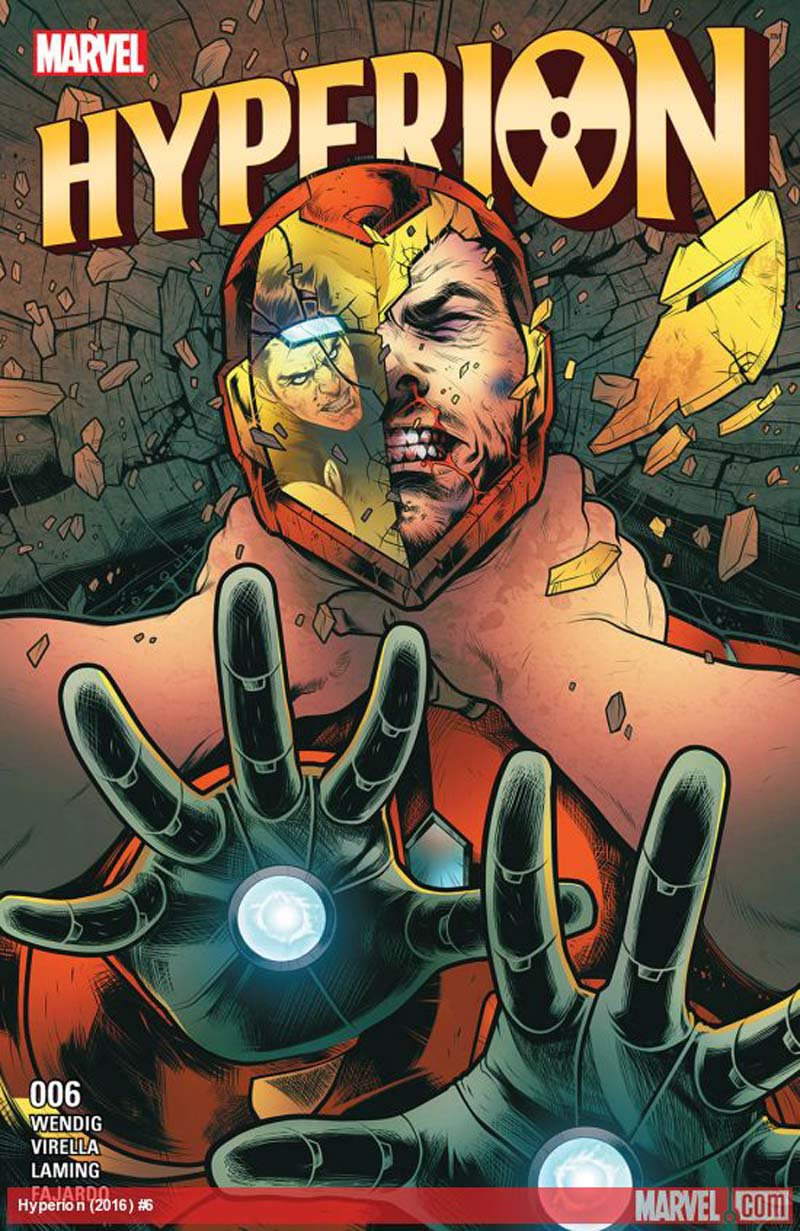 Hyperion #6 [2016] VF/NM Marvel Comics
