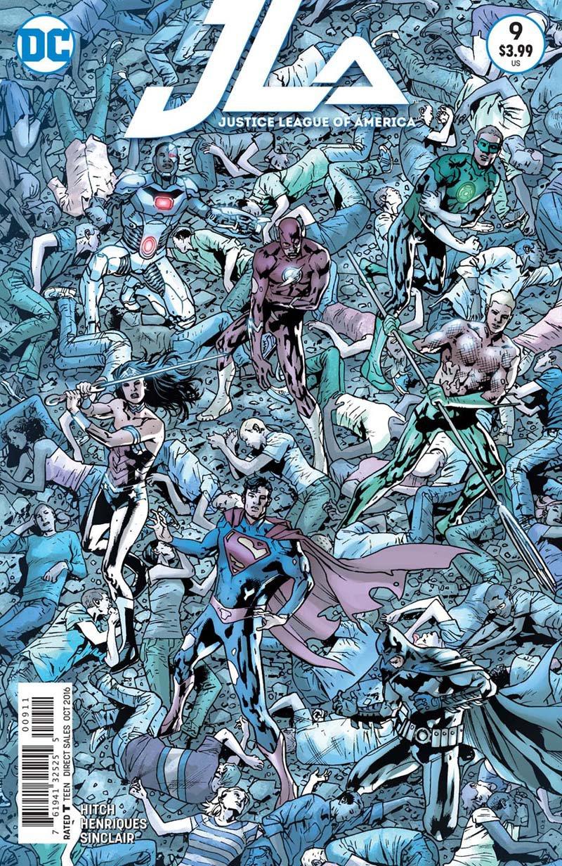 Justice League of America #9 [2016] VF/NM DC Comics