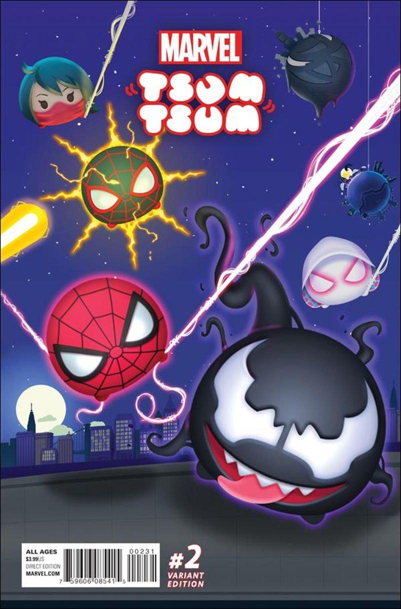 Marvel Tsum Tsum #2 Fernando Olmedo Tsum Tsum Game Connecting Cover [2016] VF/NM Marvel Comics