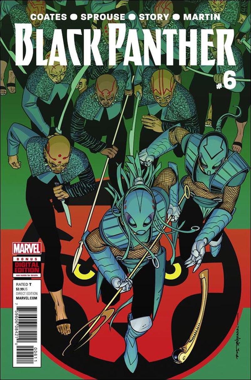 Black Panther #6 [2016] VF/NM Marvel Comics