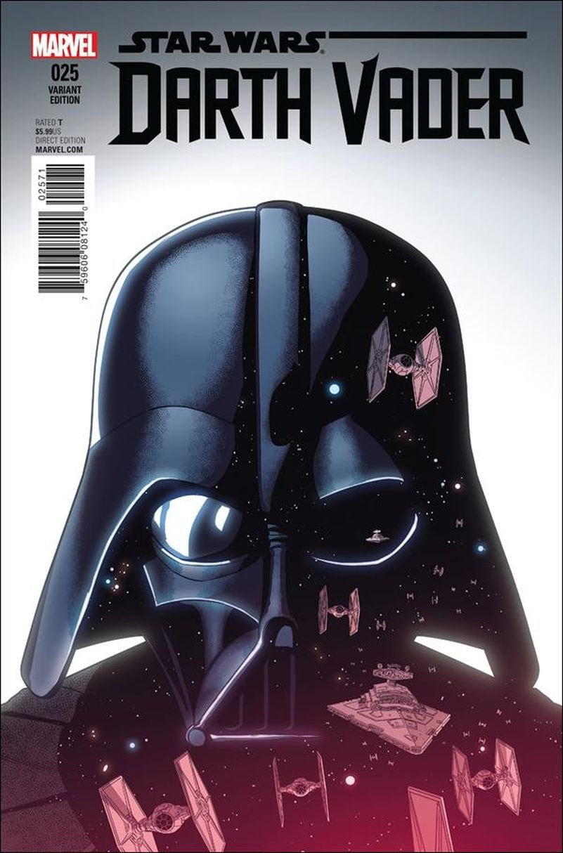 Darth Vader #25 Jamie McKelvie Cover [2016] VF/NM Marvel Comics  Final Issue