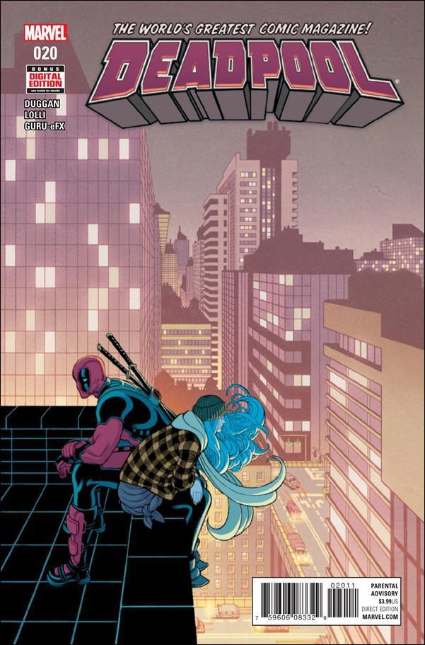Deadpool #20 [2016] VF/NM Marvel Comics