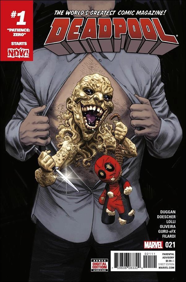 Deadpool #21  [2016] VF/NM