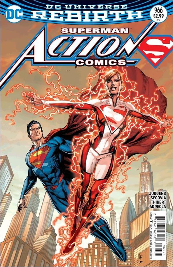 Action Comics #966 [2016] VF/NM DC Comics  *Gary Frank Cover*