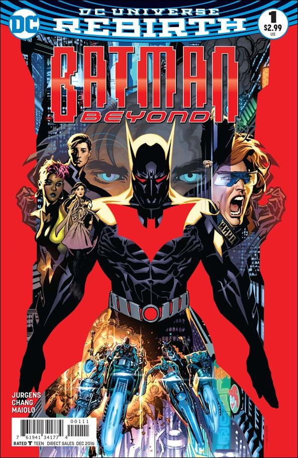 Batman Beyond #1 [2016] VF/NM DC Comics