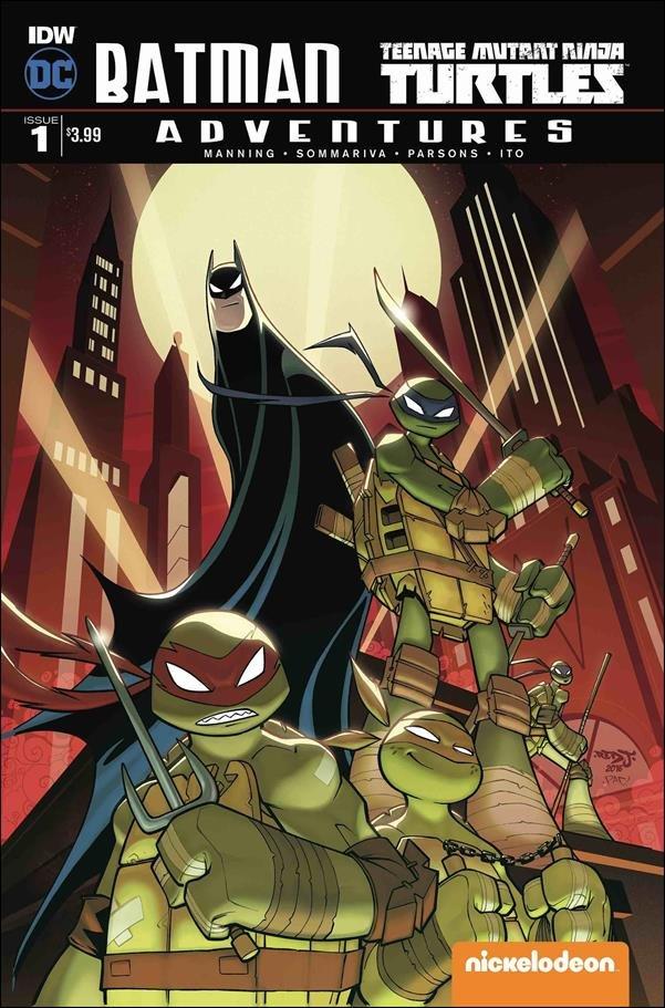 Batman Teenage Mutant Ninja Turtles Adventures #1 [2016] VF/NM DC Comics
