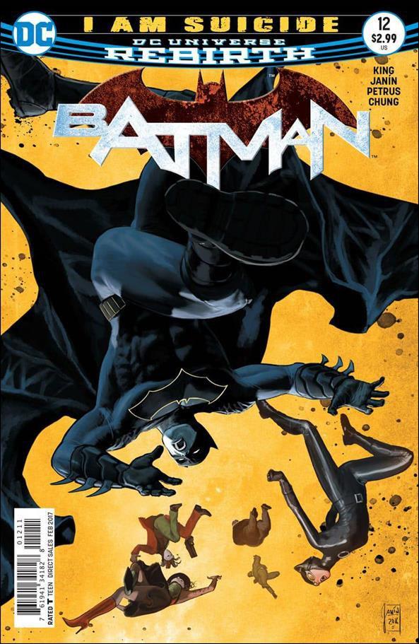 Batman #12 [2016] VF/NM DC Comics
