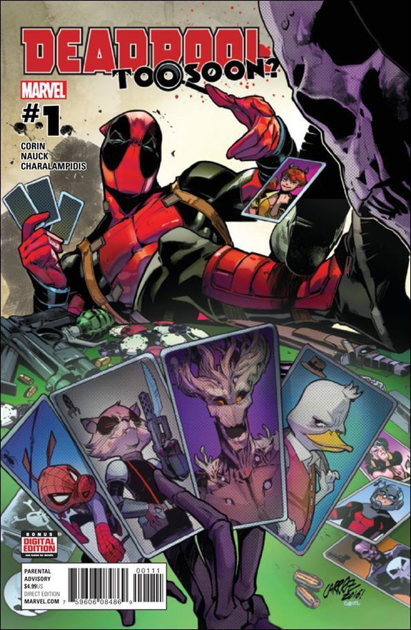 Deadpool: Too Soon? #1 [2016] VF/NM Marvel Comics