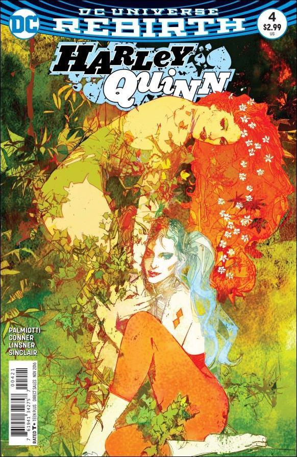 Harley Quinn #4 Bill Sienkiewicz Variant Cover [2016] VF/NM DC Comics