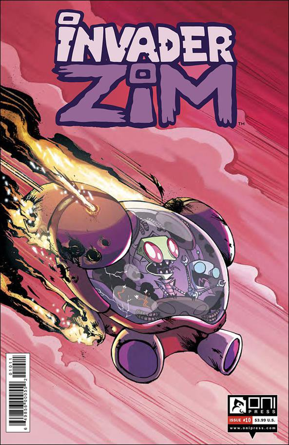Invader Zim #10 [2016] VF/NM Oni Press Comics