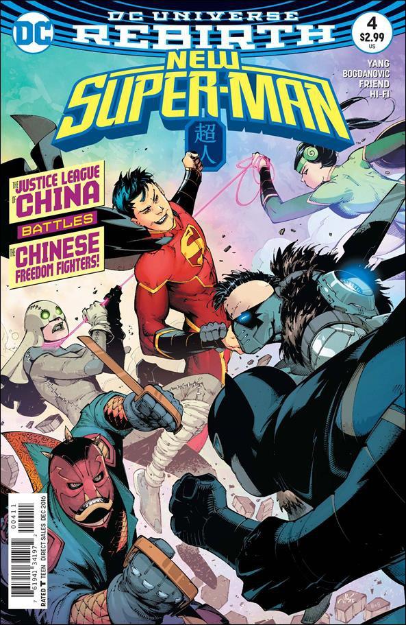 New Super-Man #4 [2016] VF/NM DC Comics