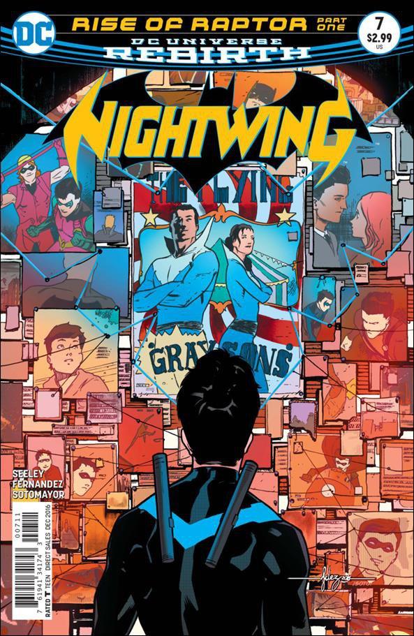 Nightwing #7 [2016] VF/NM DC Comics