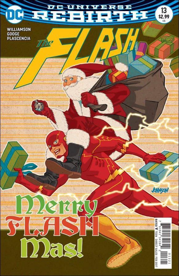 Flash #13 Dave Johnson Variant Cover [2016] VF/NM DC Comics