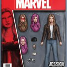 Jessica Jones #1 John Tyler Christopher Action Figure Variant Cover [2016] VF/NM Marvel Comics