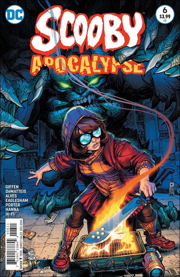 Scooby Apocalypse #6 [2016] VF/NM DC Comics