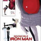 Invincible Iron Man #2 Pascal Campion XCI Variant Cover [2017] VF/NM Marvel Comics