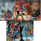 Injustice: Gods Among Us: Year Four #1 - 12 and Annual! Complete Trade Set [2015] VF/NM DC Comics