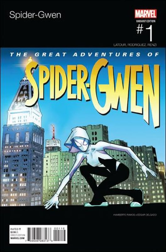 Spider-Gwen #1 (Vol 2)Humberto Ramos Hip Hop Cover [2015] VF/NM Marvel Comics