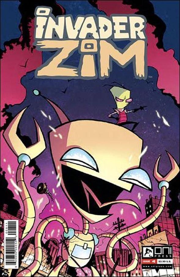 Invader Zim #8 [2016] VF/NM Oni Press Comics