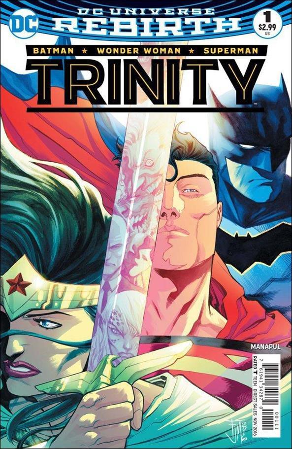 Trinity #1 [2016] VF/NM DC Comics