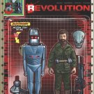Revolution #2 Adam Riches Action Figure Subscription Variant Cover [2016] VF/NM IDW Comics
