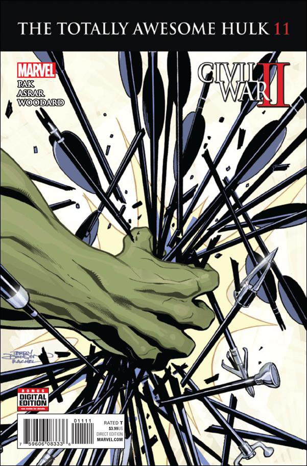 Totally Awesome Hulk #11 [2016] VF/NM Marvel Comics