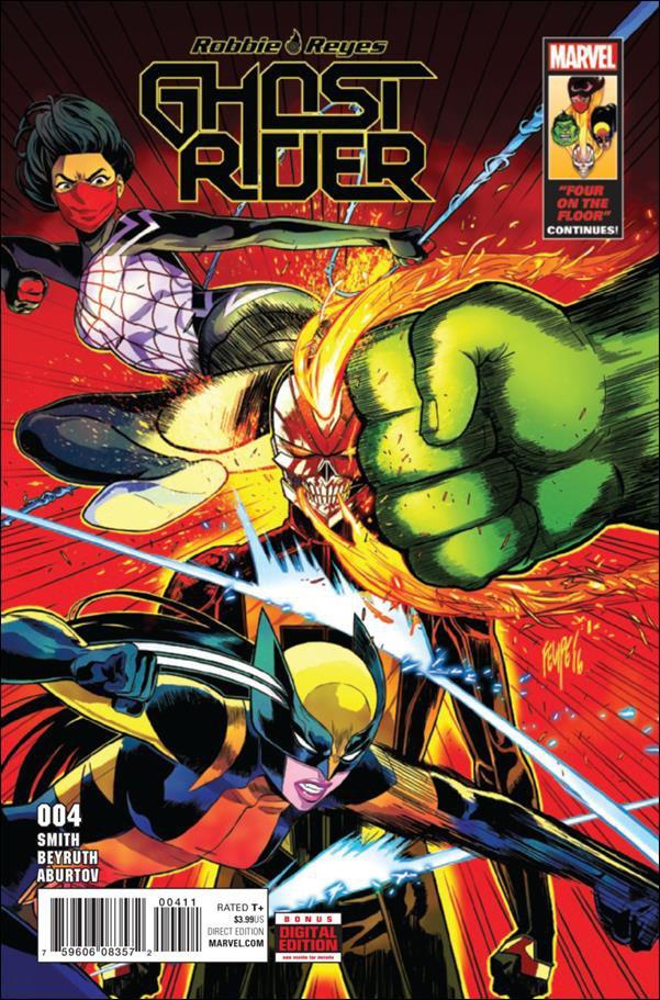 Ghost Rider #4 [2017] VF/NM Marvel Comics