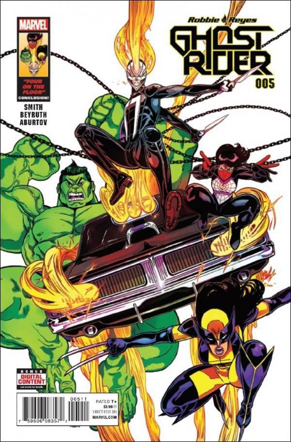Ghost Rider #5 [2017] VF/NM Marvel Comics