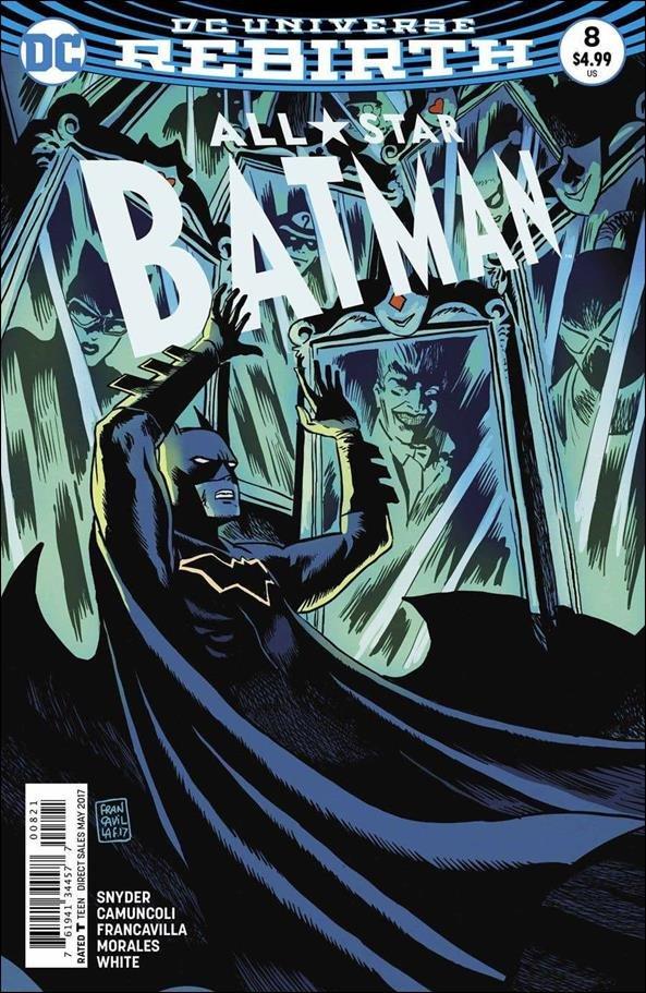 All-Star Batman #8 Francesco Francavilla Variant Cover [2017] VF/NM DC Comics