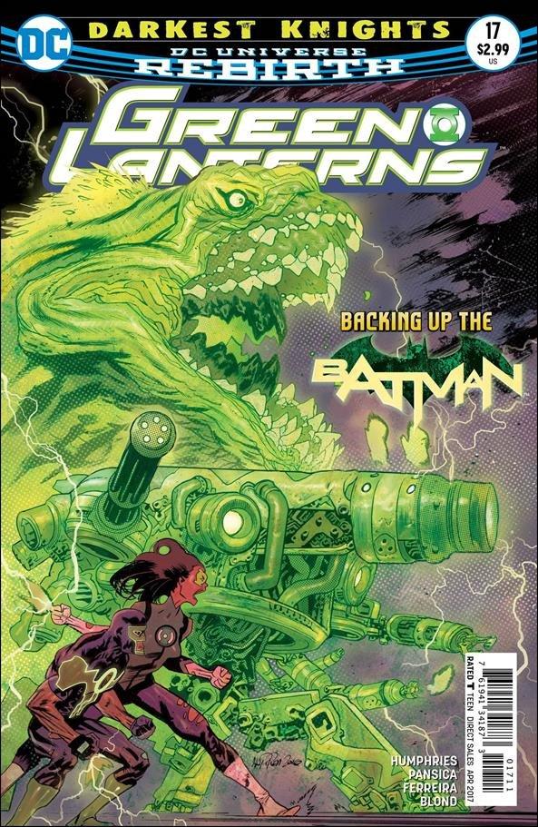 Green Lanterns #17 [2017] VF/NM DC Comics