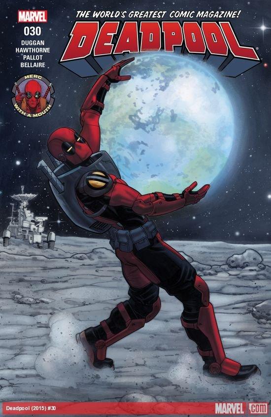 Deadpool #30 [2017] VF/NM Marvel Comics