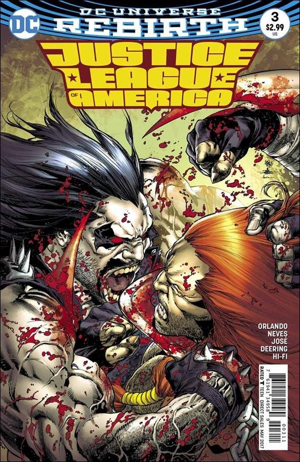 Justice League of America #3 [2017] VF/NM DC Comics