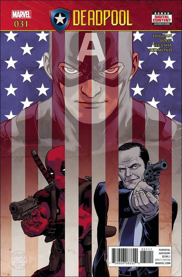 Deadpool #31 [2017] VF/NM Marvel Comics
