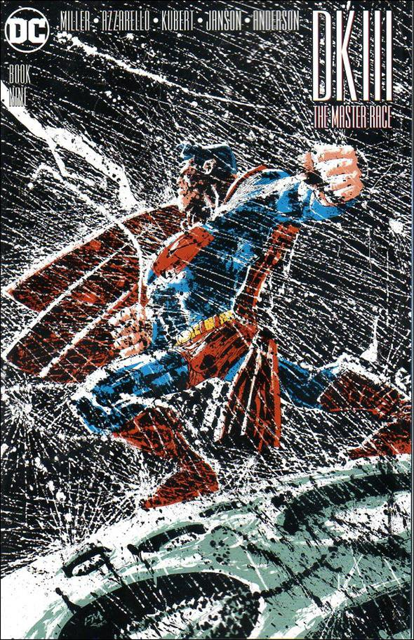 Dark Knight III: The Master Race #9 Frank Miller Variant Cover [2017] VF/NM DC Comics
