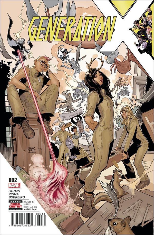 Generation X #2 [2017] VF/NM Marvel Comics