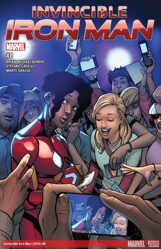 Invincible Iron Man #8 [2017] VF/NM Marvel Comics