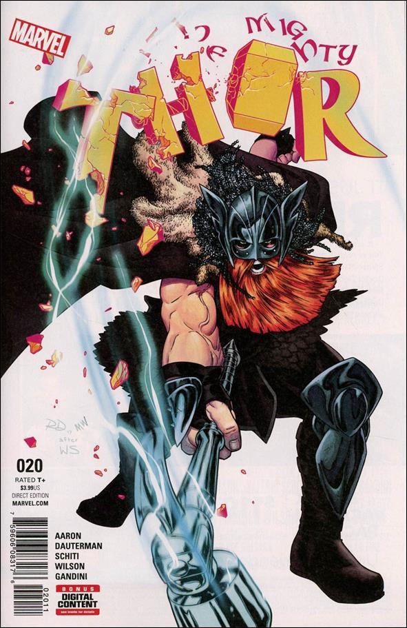 Mighty Thor #20 [2017] VF/NM Marvel Comics