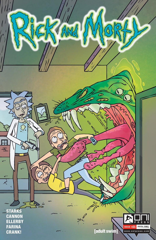 Rick and Morty #21 [2016] VF/NM Oni Press Comics