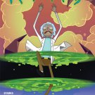 Rick and Morty #21 Daria Pekhletski Variant Cover [2016] VF/NM Oni Press Comics