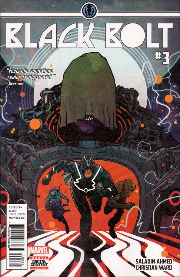 Black Bolt #3 [2017] VF/NM Marvel Comics