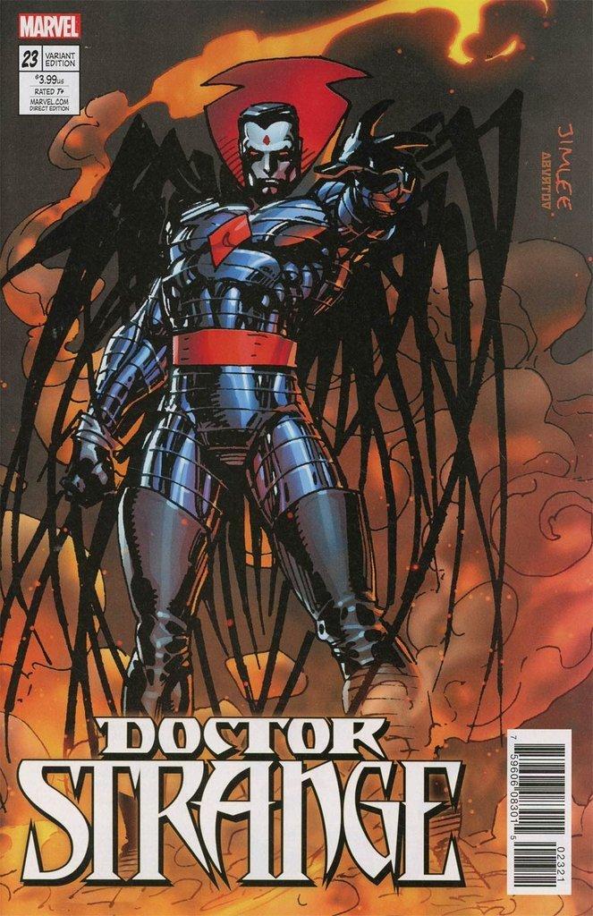 Doctor Strange #23 X-Men Card Variant Cover [2017] VF/NM Marvel Comics