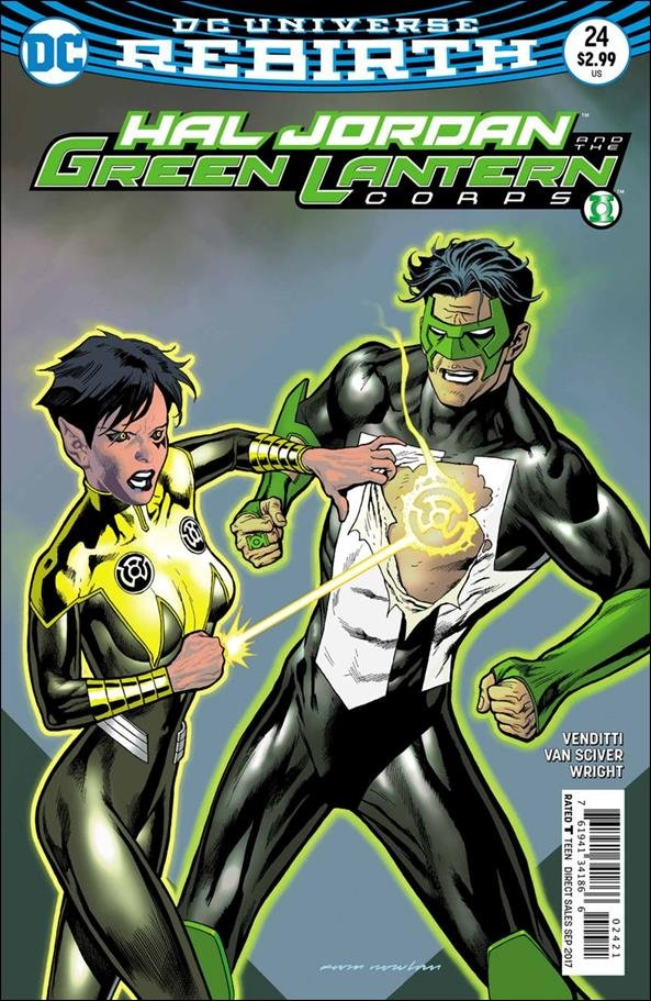 Hal Jordan and the Green Lantern Corps #24 Kevin Nowlan Variant Cover [2017] VF/NM DC Comics